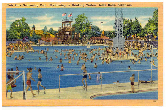 Mabelvale High School The Fair Park Swimming Pool